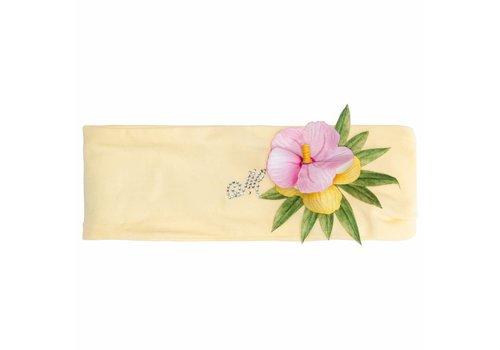 Monnalisa Monnalisa Hair Band Yellow With Flower