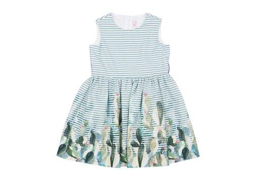 Il Gufo Il Gufo Dress Sage Green