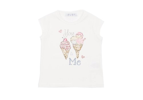 Elsy Elsy T-Shirt You & Me Ice Cream