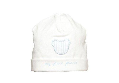 First First Hat 'My First Friend' White - Ciel