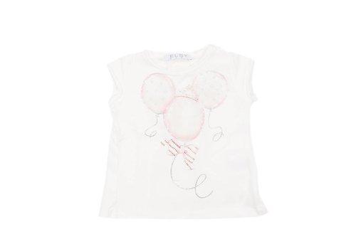 Elsy Elsy T-Shirt Mandarino Jersey