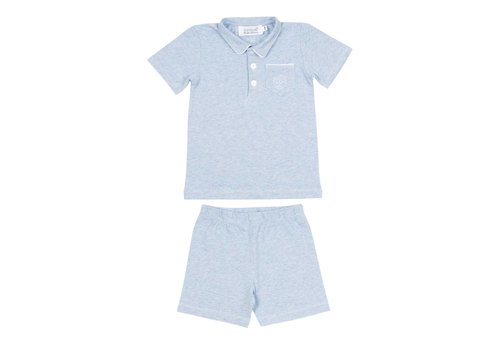 Cotolini Cotolini Pyjamas Short Cyrille Ciel Chine