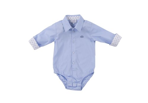 Natini Natini Body Shirt Caspar Spots White
