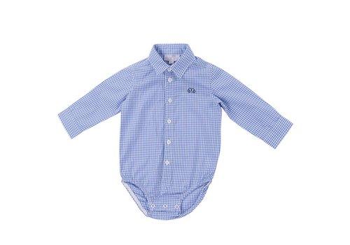 Natini Natini Body Shirt Pierrot Vichy Light Blue