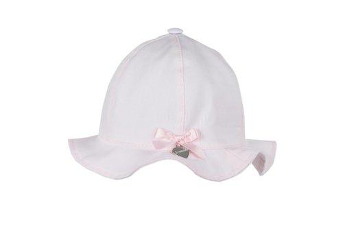 Il Trenino Il Trenino Summer Hat With Bow Pink