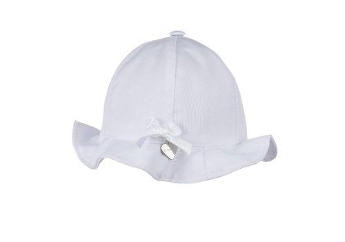 Il Trenino Il Trenino Summer Hat With Bow White
