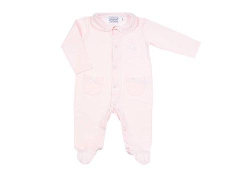 Cotolini Cotolini Pyjamas Coraline Pink - White