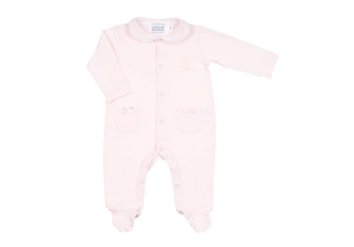 Cotolini Cotolini Pyjama Coraline D'Eleonore Roze Wit