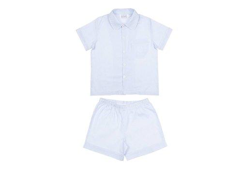 Cotolini Cotolini Pyjamas Oxford Arthur White - Ciel
