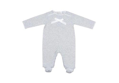 Cotolini Cotolini Pyjamas Cloclo Grey With Bow