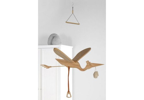 Quax Quax Mobile Stork Wood