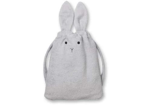Liewood Liewood Towel Backpack Rabbit Dumbo Grey