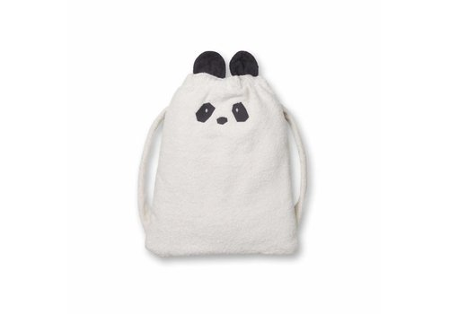 Liewood Liewood Handdoek Rugzak Panda Creme De La Creme
