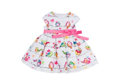Elsy Elsy Dress With Birds