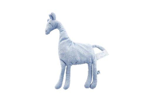 Theophile & Patachou Theophile & Patachou Cuddle Cloth Giraffe Blue