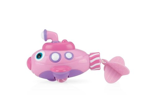 Nuby Nuby Bath Toy Submarine Pink