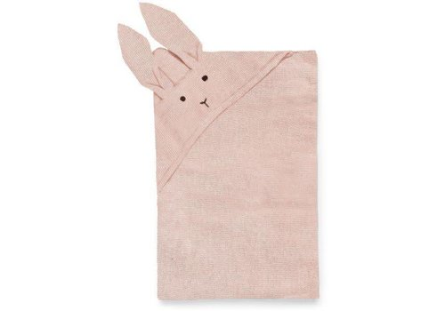 Liewood Liewood Blanket Willie Rabbit Pink