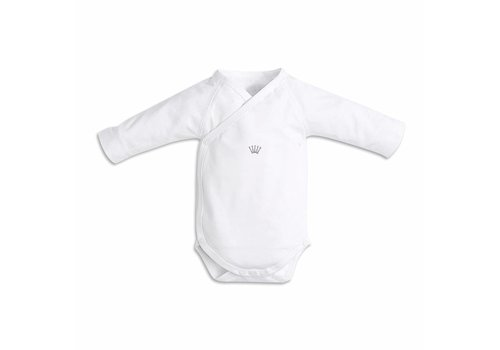 First First Jersey Bodysuit Long Sleeves Crown