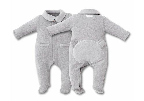 First First Pyjamas Grey With Teddy