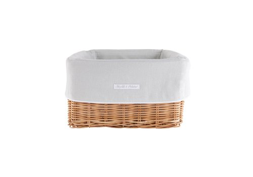 Theophile & Patachou Theophile & Patachou Rush Basket + Cover  Linnen Mint