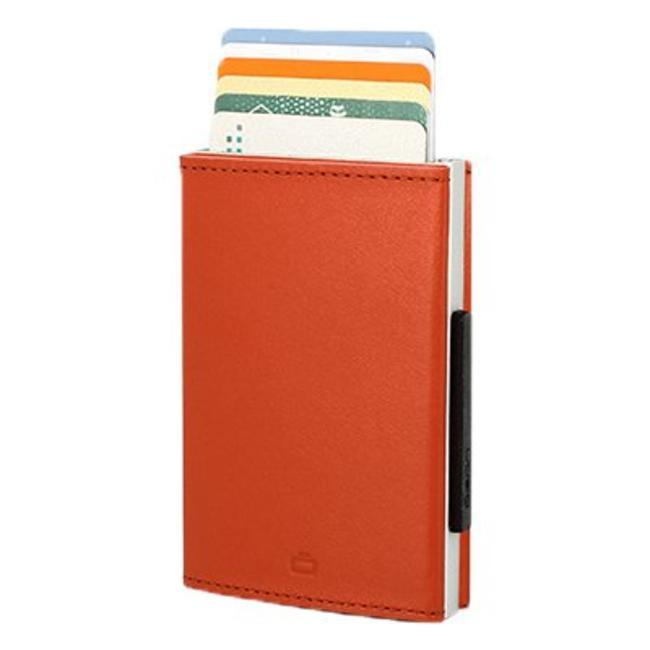 Ögon Designs Cascade Leren RFID Cardprotector Oranje
