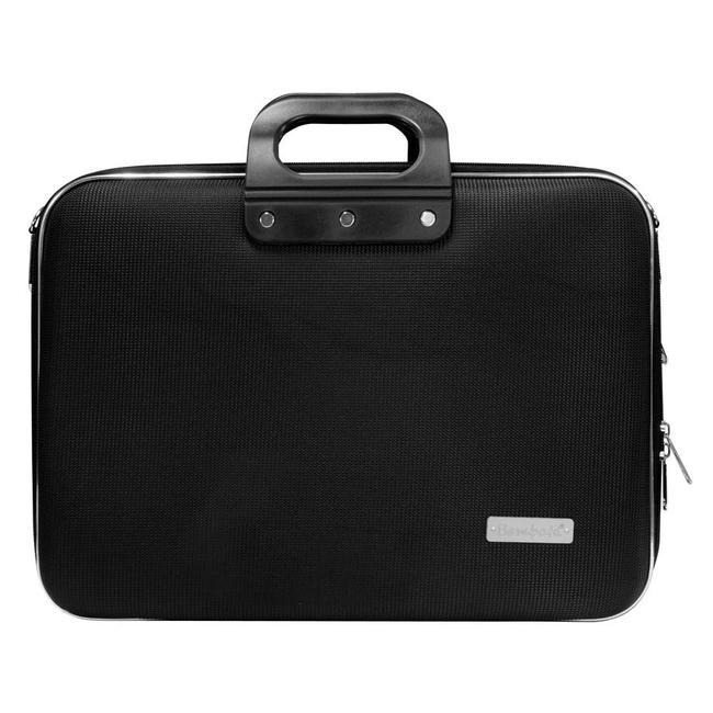 Bombata 15 inch Nylon Business Laptoptas Zwart
