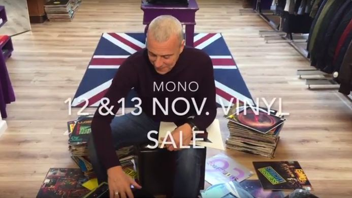 Vinyl Sale For Charity