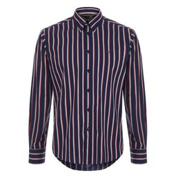 Merc Elsted Vertical Stripe Overhemd, Regular fit