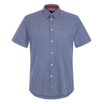 Merc Fircroft Retro Floral Overhemd, Regular fit
