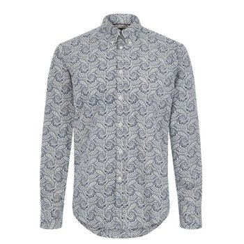 Merc Patcham Paisley Print Overhemd, Regular fit