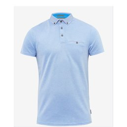 Ted Baker Super Geo Print Collar Polo