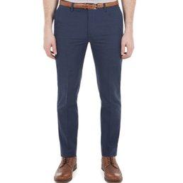 Ben Sherman Cotton Marl Pantalon, Slim fit