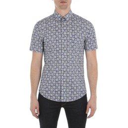 Ben Sherman Bandana Floral Overhemd, Slim fit