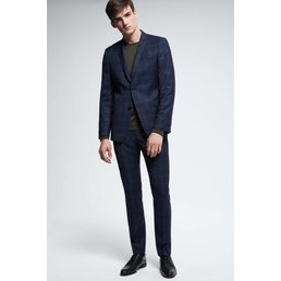 Strellson Madden Pantalon Navy, Slim fit