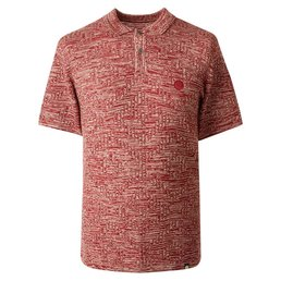 Pretty Green Hesford Jacquard Knit Polo