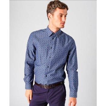 Ben Sherman Chambray Retro Spot Overhemd, Regular fit