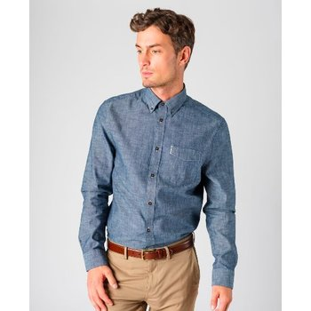 Ben Sherman Chambray Overhemd, Regular fit
