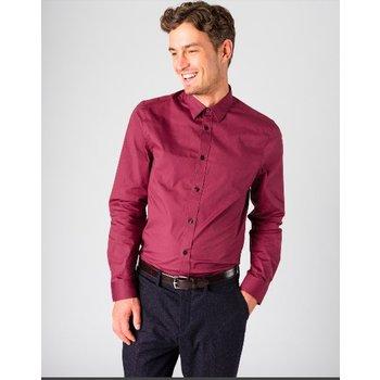 Ben Sherman Stretch Poplin Overhemd, Regular fit