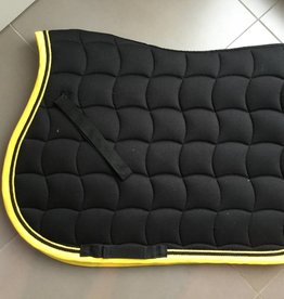 LAMI-CELL LAMI-CELL zadeldoek zwart/pipping geel zwart