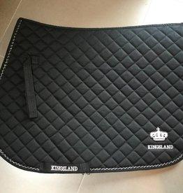 KINGSLAND KINGSLAND Sienna saddle pad zwart