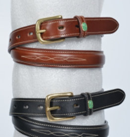 LJ LEATHERS LJ Leathes riem fancy