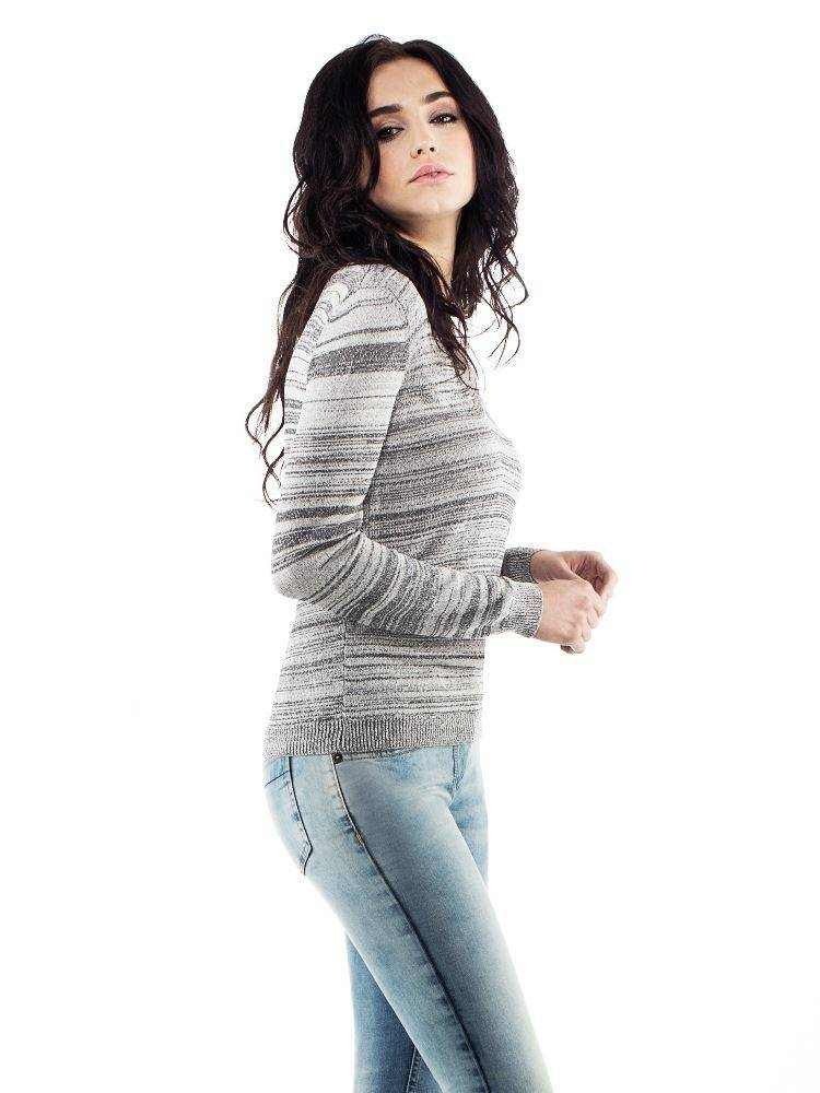 ANIMO sbic sweater grijs/zilver