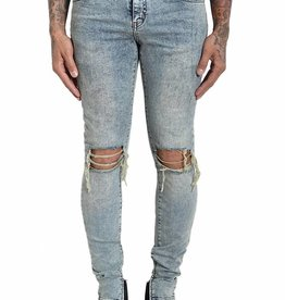 FAKETRUTH Marciano Ankle Zip Denim Sand Washed