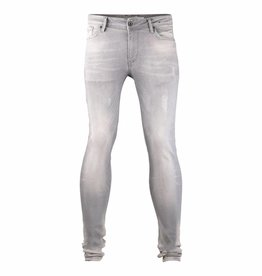 Pure White Jone27 Jeans Grey