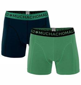 Muchachomalo Muchachomalo 1010SOLID189 2-Pack Green/Black