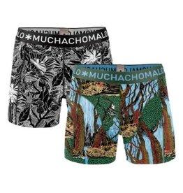 Muchachomalo Muchachomalo 1010WOODX04 2-Pack Multi