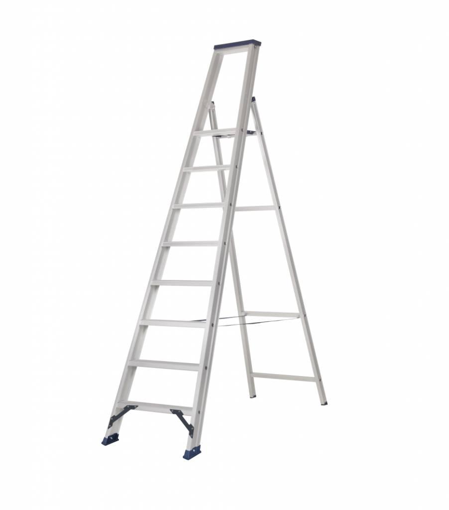das hercules ano stufen stehleiter 1 x 8 stufen ladder steiger. Black Bedroom Furniture Sets. Home Design Ideas