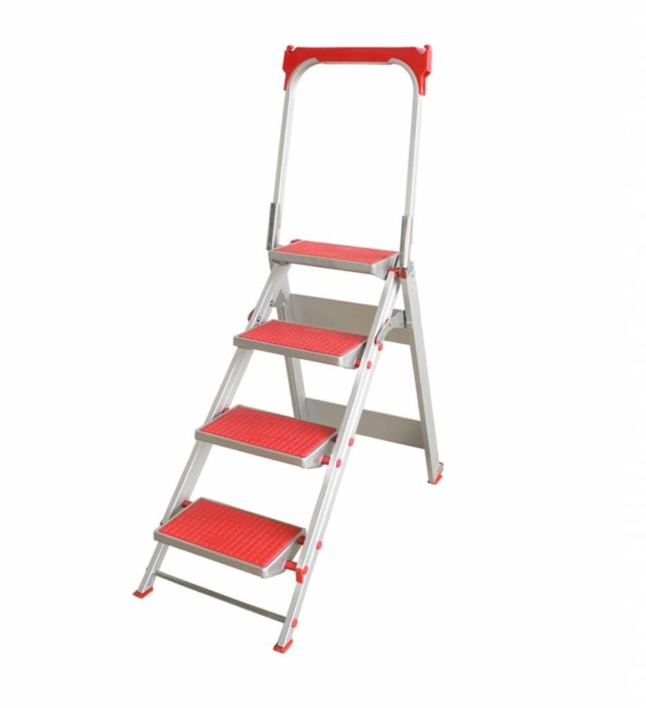 escabeau de s curit 4 marches ladder steiger. Black Bedroom Furniture Sets. Home Design Ideas