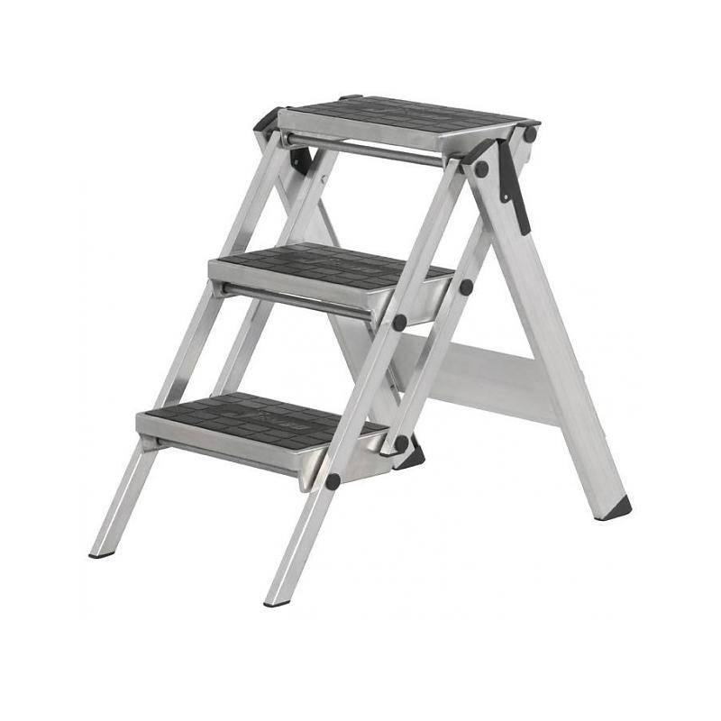 escabeau little jumbo compact 3 marches ladder steiger. Black Bedroom Furniture Sets. Home Design Ideas