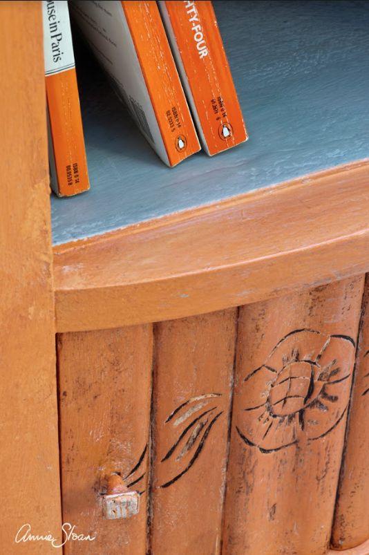 Annie Sloan Barcelona Orange 1l - 250ml - 100ml